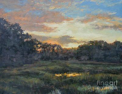 Painting - Morning On The Marsh - Wellfleet by Gregory Arnett