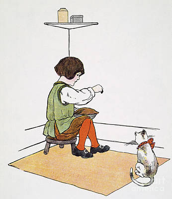 Mother Goose: Jack Horner Print by Granger