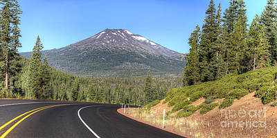 Deschutes Photograph - Mount Bachelor by Twenty Two North Photography