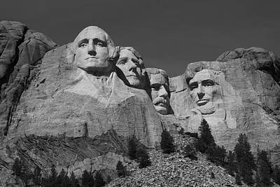 Mount Rushmore Print by Frank Romeo