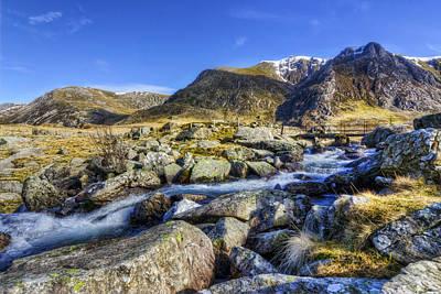 Snowdon Photograph - Mountain Stream by Ian Mitchell
