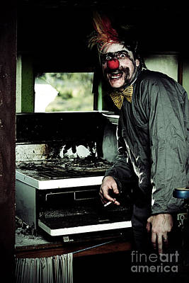 Char Photograph - Mr Bungle The Kitchen Clown by Jorgo Photography - Wall Art Gallery