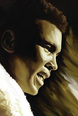 Muhammad Ali Boxing Artwork Print by Sheraz A