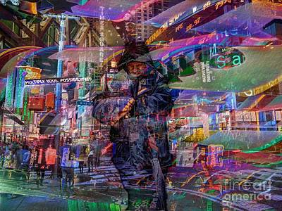 New York City Photograph - Multiply Your Possibilities by Jeff Breiman