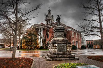 Murfreesboro Town Hall Print by Brett Engle