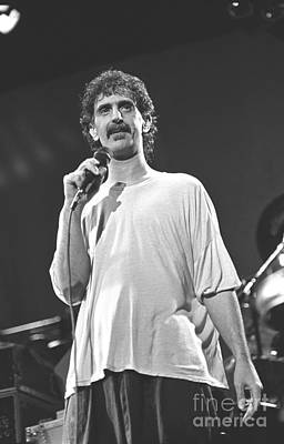 Photograph - Musician Frank Zappa by Concert Photos
