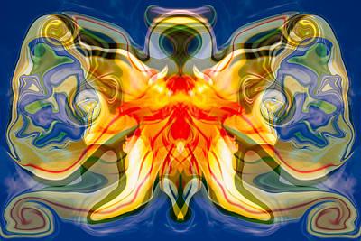 North Cascades Mixed Media - My Angel by Omaste Witkowski