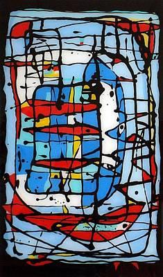 Painting - My Fishing by Paul Pulszartti