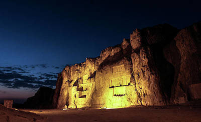 Tomb Photograph - Naqsh-e Rustam Tombs by Babak Tafreshi