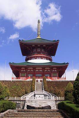 Narita Jinja (shrine Print by Paul Dymond