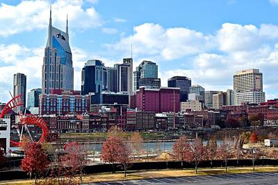 Nashville Tennessee Print by Frozen in Time Fine Art Photography