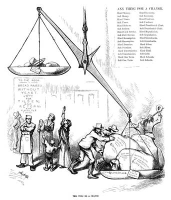 Nast Election, 1876 Print by Granger