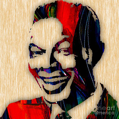 Nat King Cole Collection Print by Marvin Blaine