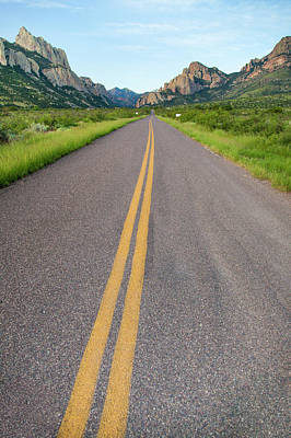 Portal Photograph - National Forest Road by Larry Ditto