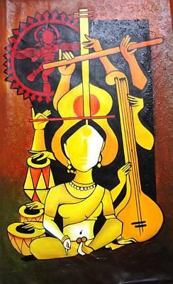 Music Photograph - Natraj - Lord Of Dance by Sheetal Bhonsle