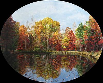 Nature's Palette Original by Cara Bevan