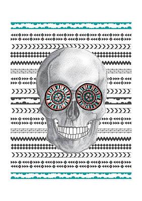 Skull Photograph - Navajo Skull by Susan Claire
