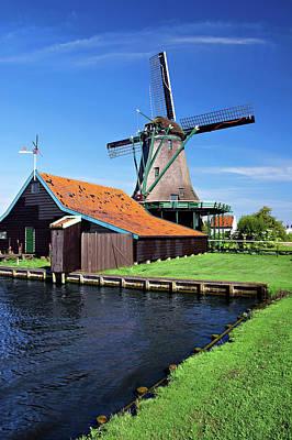 Mechanism Photograph - Netherlands, North Holland, Zaanstad by Miva Stock