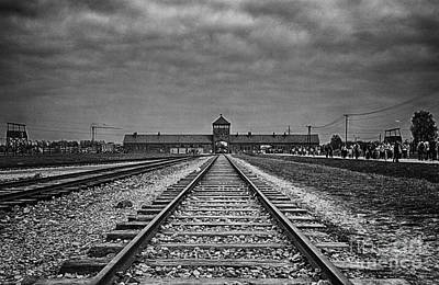 Auschwitz Photograph - Never Forget by Giovanni Chianese