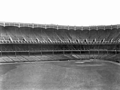 Yankee Stadium Photograph - New Yankee Stadium by Underwood Archives