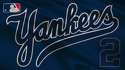 New York Yankees Derek Jeter Print by Joe Hamilton