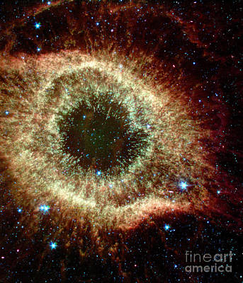 Heavenly Body Photograph - Ngc 7293, Caldwell 63, Helix Nebula by Science Source