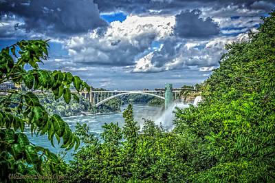 Landscape Photograph - Niagara Falls Usa by LeeAnn McLaneGoetz McLaneGoetzStudioLLCcom