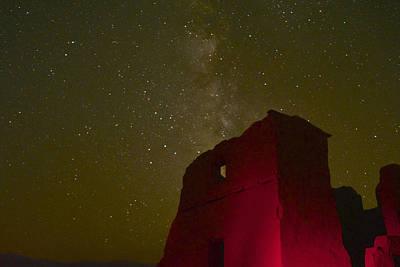 Night Sky Fort Churchill Print by Meghan Lowry