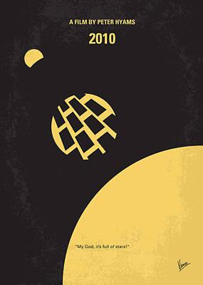 No365 My 2010 Minimal Movie Poster Print by Chungkong Art