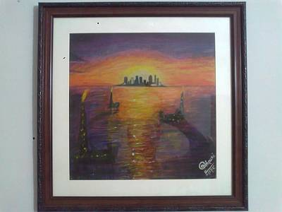 Painting - None by A Ghouri