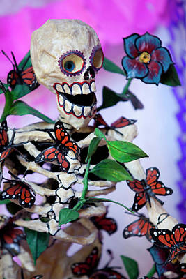 Calavera Photograph - North America, Mexico, San Miguel De by John and Lisa Merrill