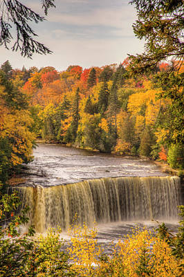 Ies Photograph - North America, Usa, Upper Peninsula by Frank Zurey