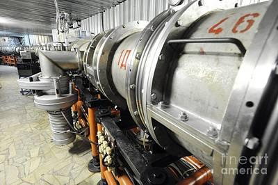 Nuclotron Particle Accelerator, Russia Print by RIA Novosti