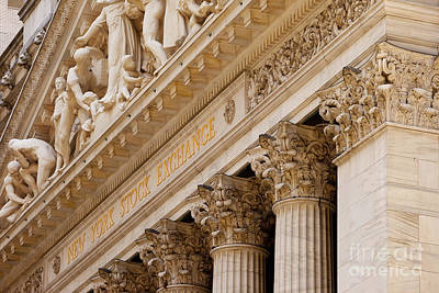 Buy Sell Photograph - Ny Stock Exchange by Brian Jannsen