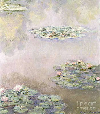 Waterlilies Painting - Nympheas by Claude Monet