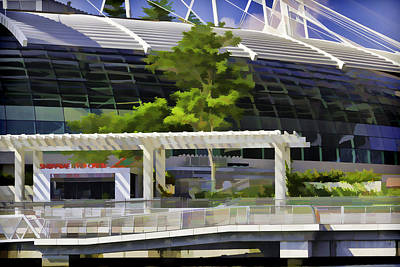 Office Of The Singapore River Cruise Of The Marina Bay Sands Print by Ashish Agarwal