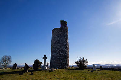 Early Christian Photograph - Old Kilcullen Round Tower, County by Panoramic Images