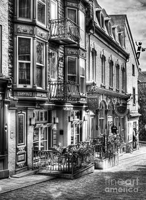 Storefront Photograph - Old Quebec City 15 by Mel Steinhauer