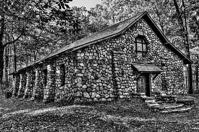Stone Buildings Photograph - Old Stone Lodge by Anthony Sacco