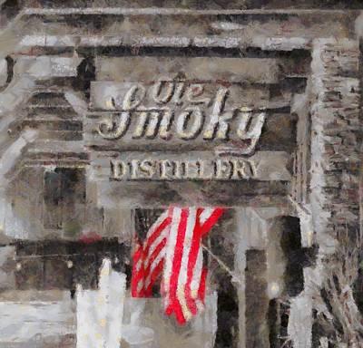 Ole Smoky Distillery Print by Dan Sproul