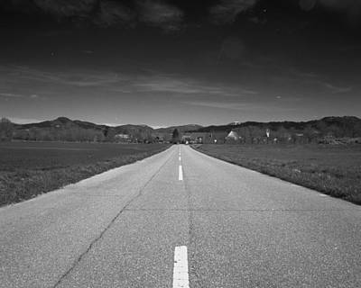 On The Road Print by Marcio Faustino
