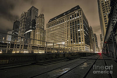 Photograph - On The Tracks by Steven K Sembach
