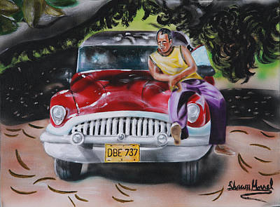 Painting - One Mile To Havana by Shawn Morrel