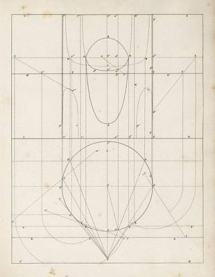 Optical Theories Of Drawing Print by King's College London