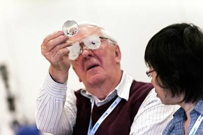 Optometry Photograph - Optometry Lens Demonstration by Dan Dunkley