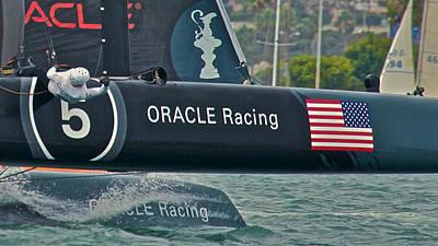 Oracle Racing Print by Steven Lapkin