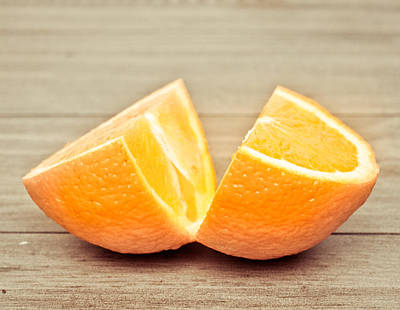 Tangy Photograph - Orange by Tom Gowanlock