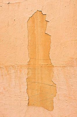 Orange Wall Print by Tom Gowanlock
