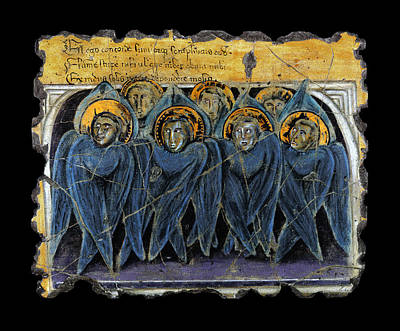 Wall Painting - Order Of Cherubim Angels by Steve Bogdanoff