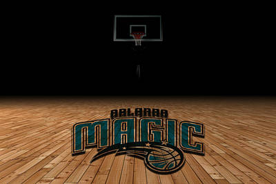 Orlando Magic Photograph - Orlando Magic by Joe Hamilton